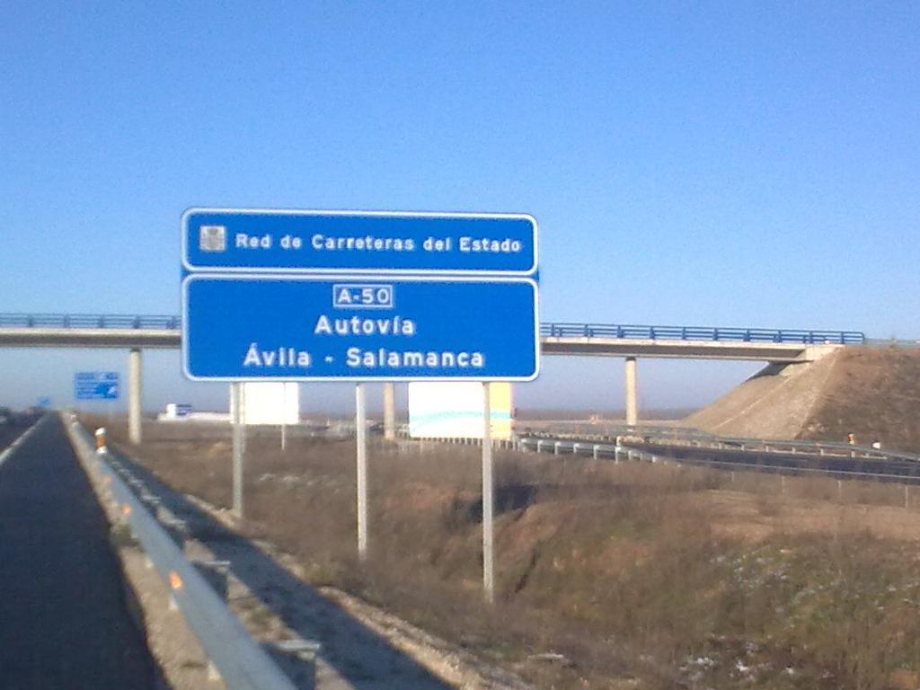 Imagen autovía España